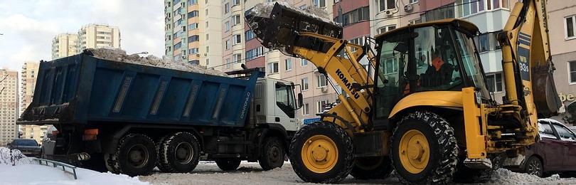 Государственный контракт по уборке снега